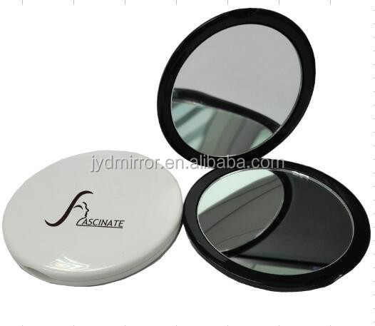 Small Dual Sided Round Cosmetic Compact Mirror Mini Size