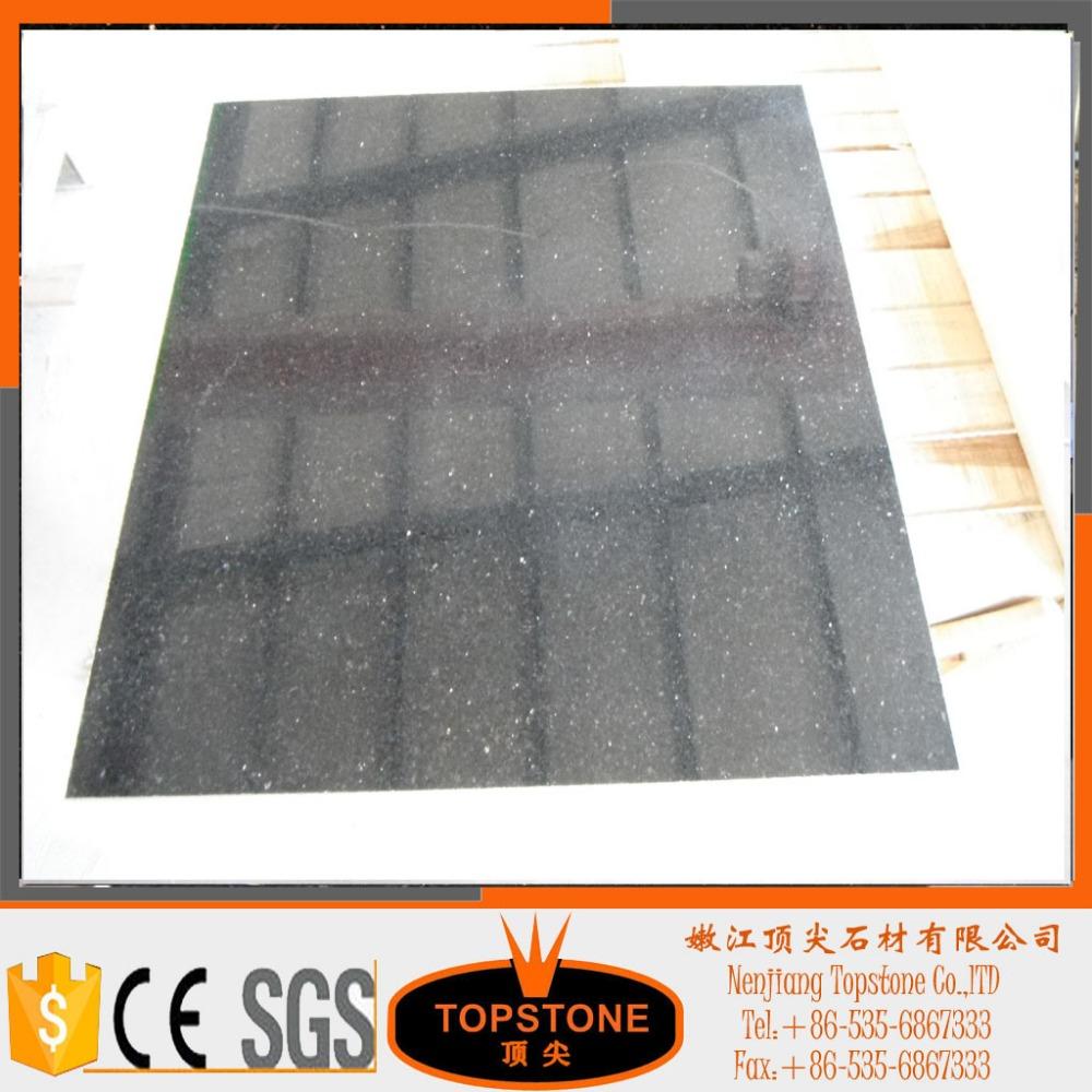 goede kwaliteit kwarts zwarte granieten keuken werkbladen goedkope ...