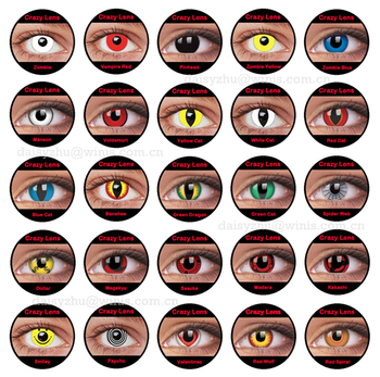 halloween contacts anime naruto cosplay wholesale crazy color ...