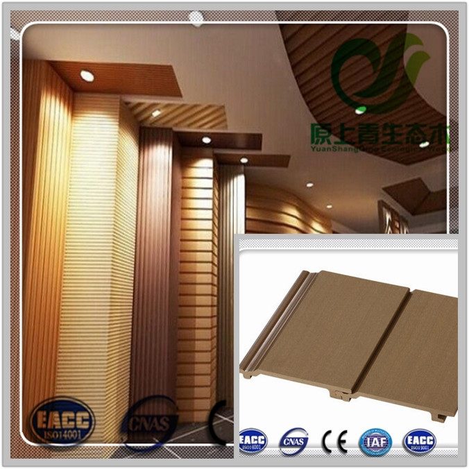 cheap external decorative PVC wood plastic panel wpc wall