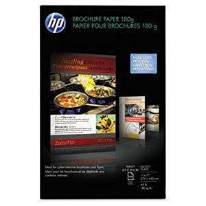 "Hp - Inkjet Brochure/Flyer Paper 98 Brightness 48Lb 11 X 17 White 150 Shts/Pk ""Product Category: Paper & Printable Media/Printer Paper"""