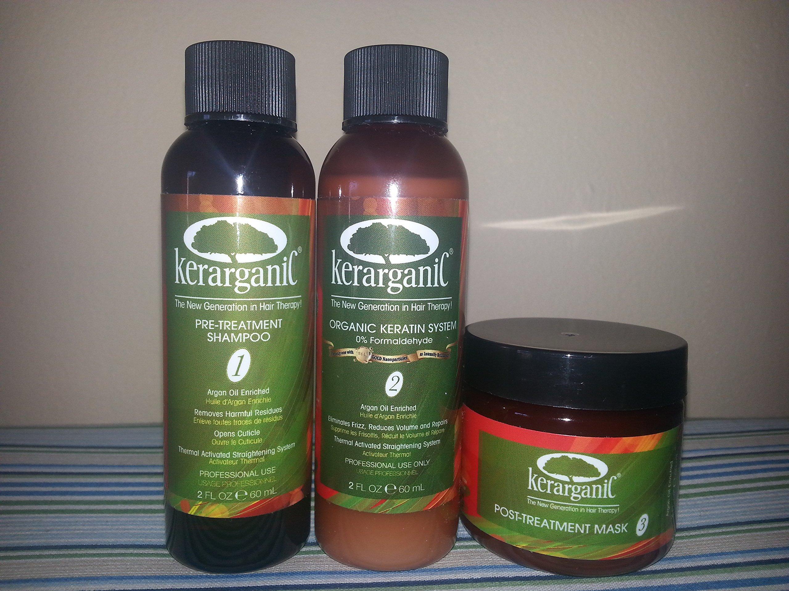 Kerarganic - Formaldehyde Free - Organic Keratin Treatment Set 2oz
