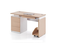 Office school home wood writing desk computer table with drawer
