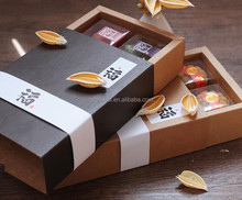 Yilucai Kraft paper biscuit chocolate and macarons cake box
