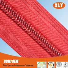 chinese wholesale companies long chain nylon zipper backpack zippers
