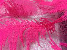 Перо цветок вышитые кружева ткань Многоцветный выбор Африканское молочного цвета Шелковое кружево одежда красивые французские свадебные ...(Китай)