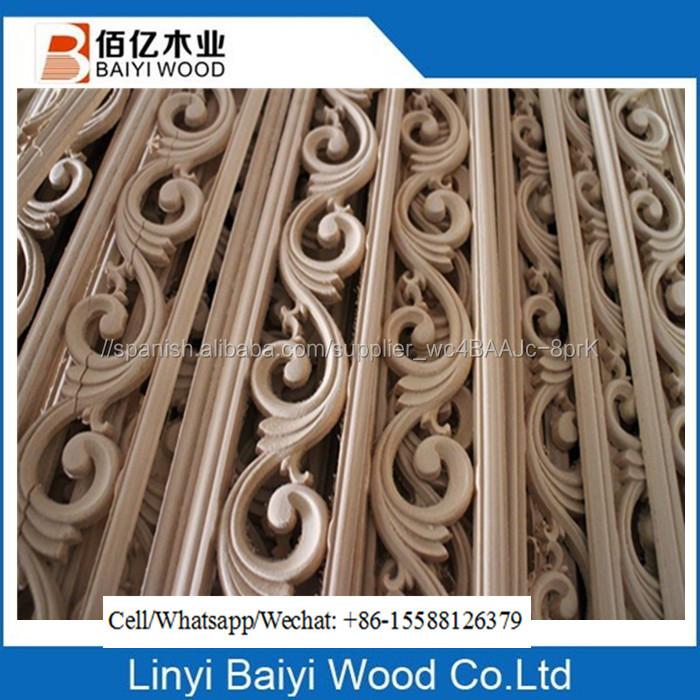 Muebles decorativos de madera recortar molduras de corona-Molduras ...