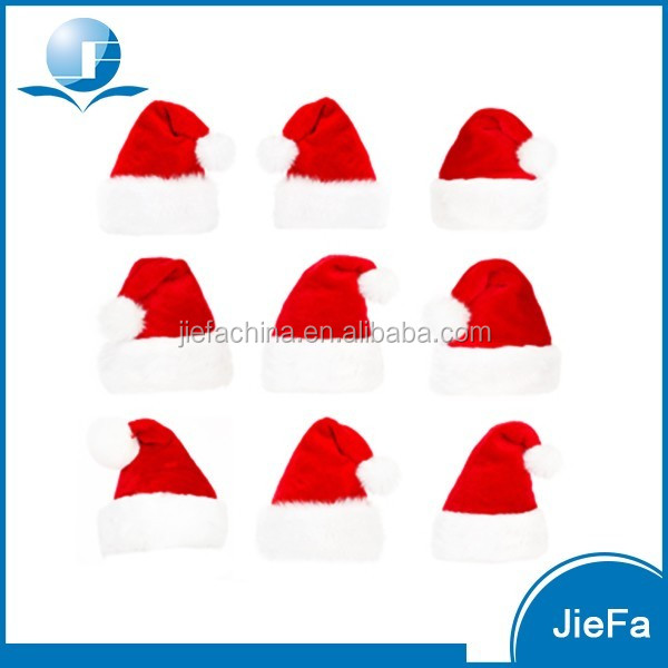 Christmas Supplies Merry Christmas Decorated Felt Santa Claus Hat