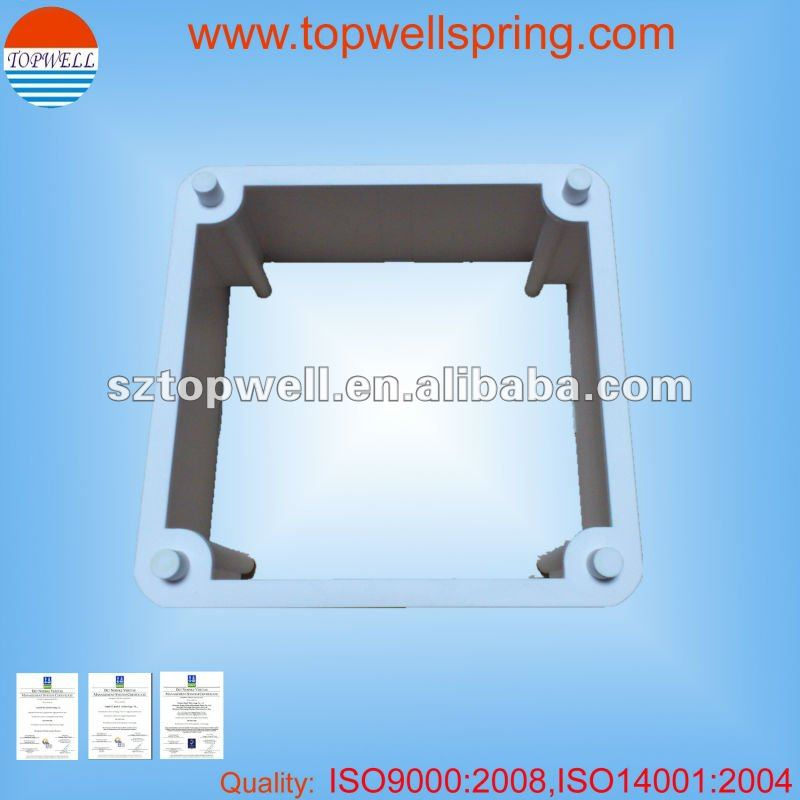 LED Light Housing, Texture finish, Rubber Paingting,Silk-screen