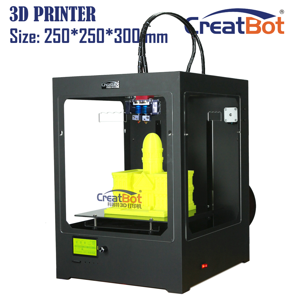 lowest imprimante 3d print plastic machine with 2 rolls of filament for 3d print services DM -33