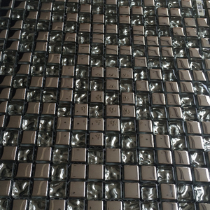 Crystal Beveled Glass Mirror Mosaic tile