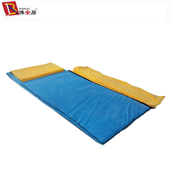 Water Proof Memory Foam Mattress With Pillow Blanket Sleeping Bag Set For Kids Baby Children Student