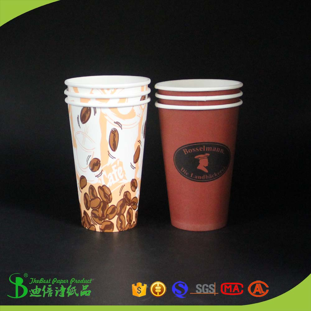 TheBEST Disposable cup with food A grade PE coated paper thailand