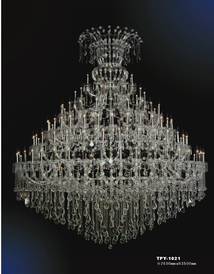 2015 five star hotel large crystal pendant l& with chandelier lighting & 2015 Five Star Hotel Large Crystal Pendant Lamp With Chandelier ... azcodes.com