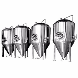 1000L/Day Turnkey Plant Micro Craft Beer Brewing Equipment / Beer Brewery Conical Fermenter Tank