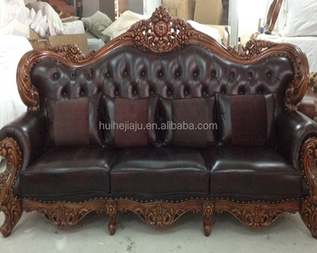 Custom Alibaba China Household Furniture Leather Sofa,Classic ...