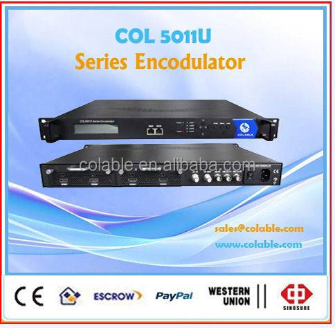 new product 4 full to dtv modulator ,encoder full modulator COL5011U