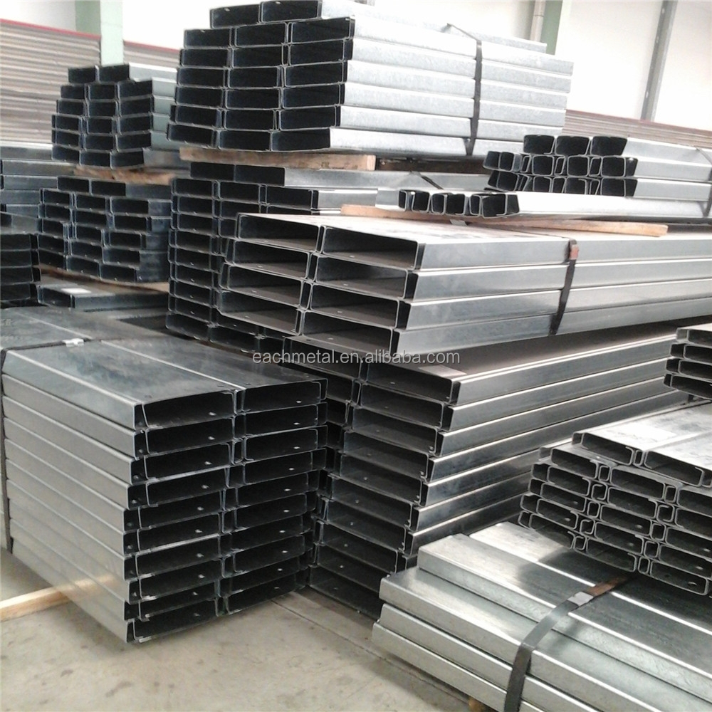 Galvanized Z Purlin Manufacture Steel Roof Purlins Standard