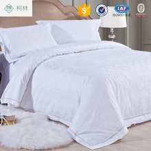 promotionapartment use wholesale cheap king size Indian hotel bedding sets 60x40s 300TC