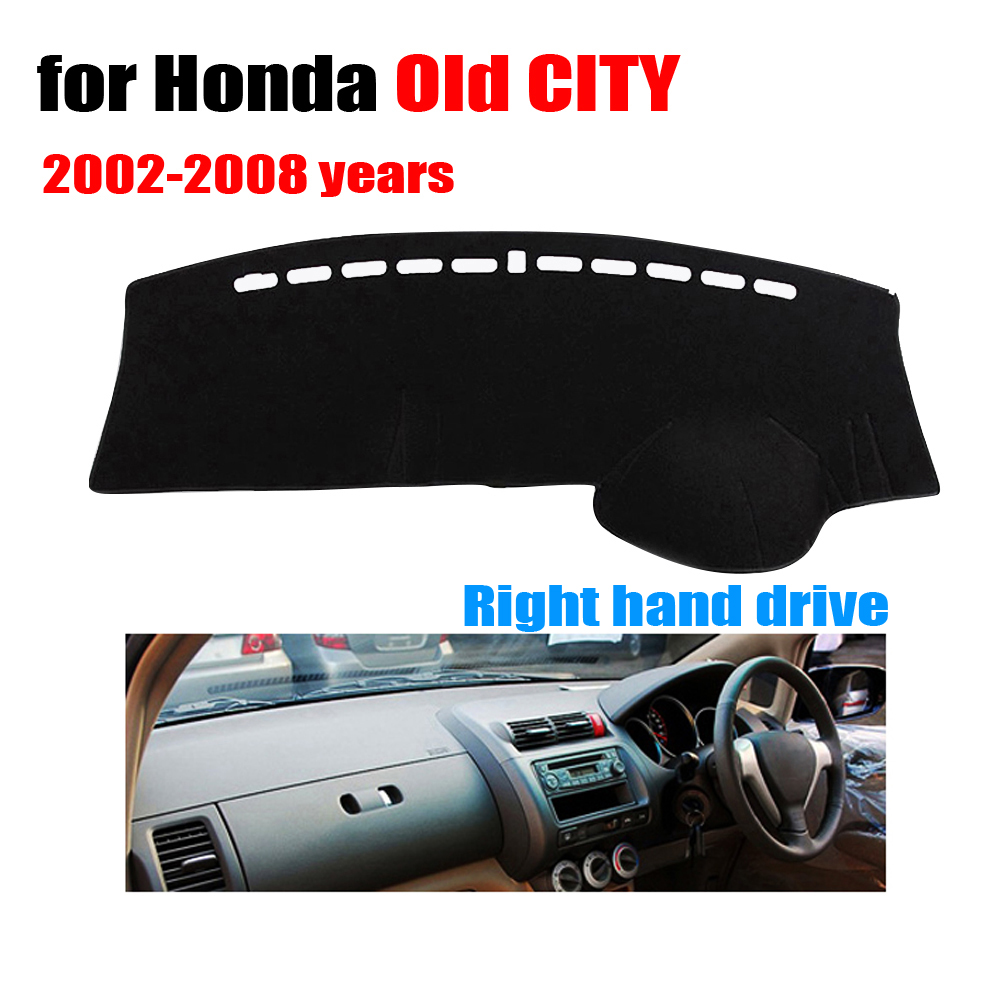 Car Dashboard Covers For Honda Old City 2002 2008 Years Right Hand Drive  Dash Mat Covers Auto Dashboard Protector Accessories   Buy Dashboard  Covers,Good ...
