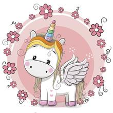 Yeni 2019 Unicorn Boyama Resmi Resim Boyama