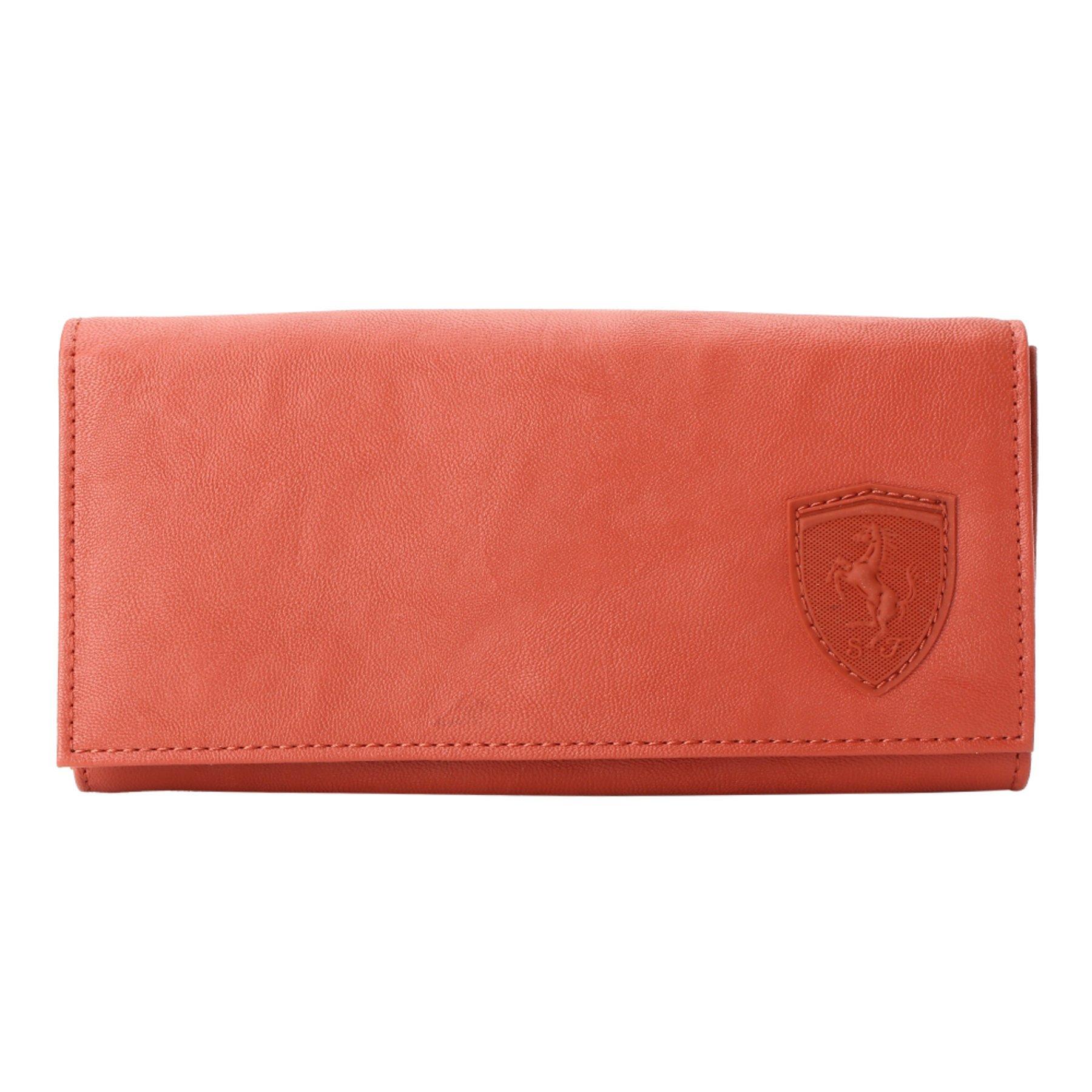 9421c5ec7e1c Get Quotations · PUMA Ferrari Red Ladies Wallet