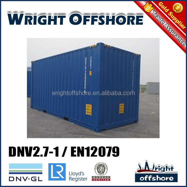 Used container for sale 20Ft high cube Offshore container, DNV2.7-1/En12079, DNV-GL,LR, CSC