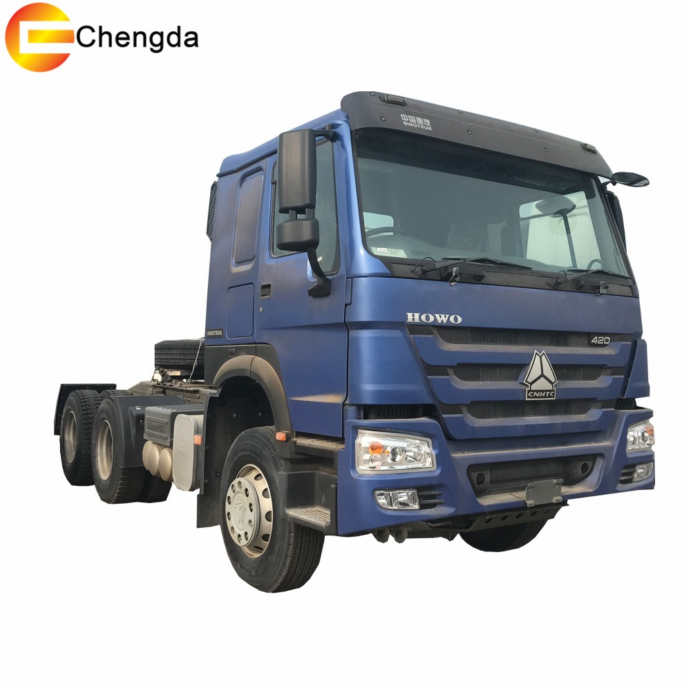 Latest Tractor Truck 420hp 6X4 For Africa - Product