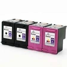 1050 New Hp61xl Ink Cartridge for Hp Deskjet 1000 2000 Hp Officejet 2620 // 2622// 2540 // 1510 // 2510 // 1010 // 4630 Hp Envy 4500 // 5530 Ink Choice 2 Pack 3050 AIO Series 2050 Bk//c 3000