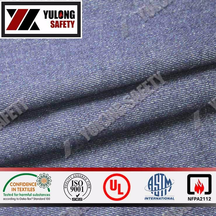 Wholesale 100% Cotton Flame Resistant Fabric For Oil Gas Industry