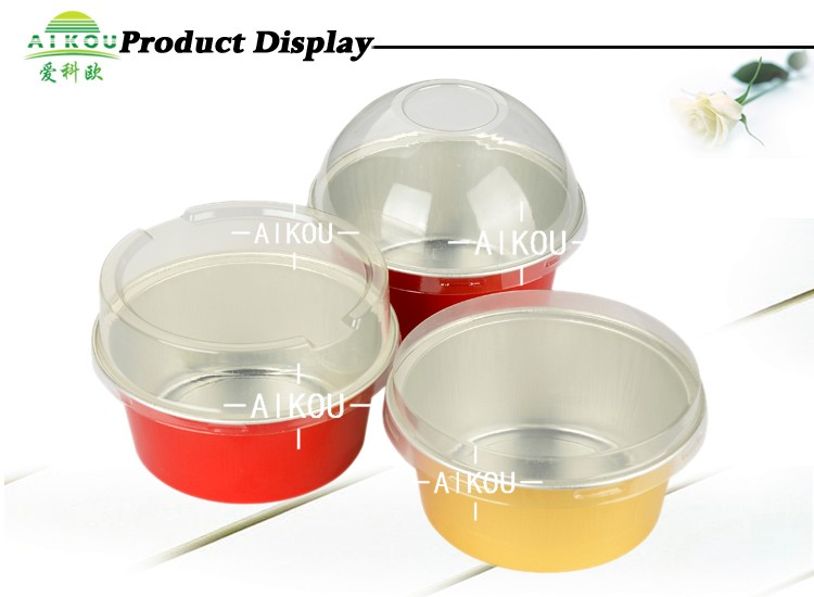 New Design Disposable Aluminum Foil Cake Baking Cup For Usa Cheese ...
