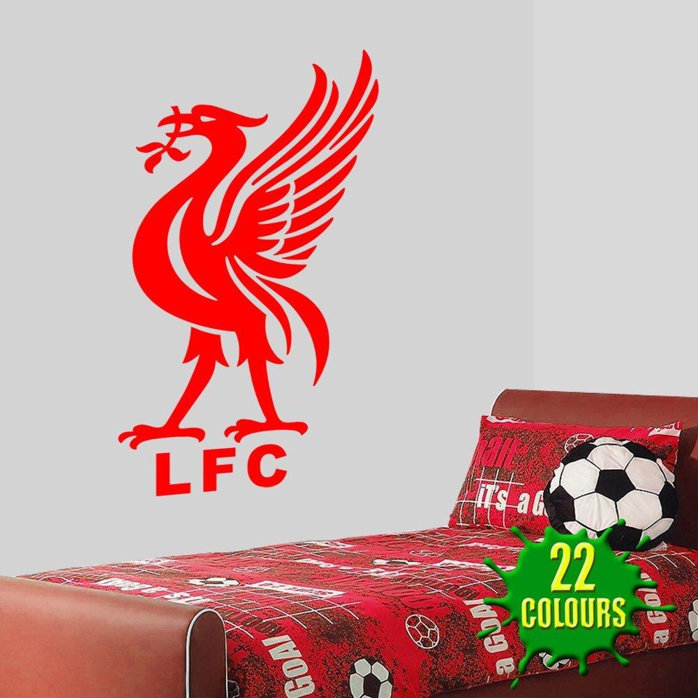 Liver bird liverpool fc wall decal art stickers football sport bedroom nursery playroom
