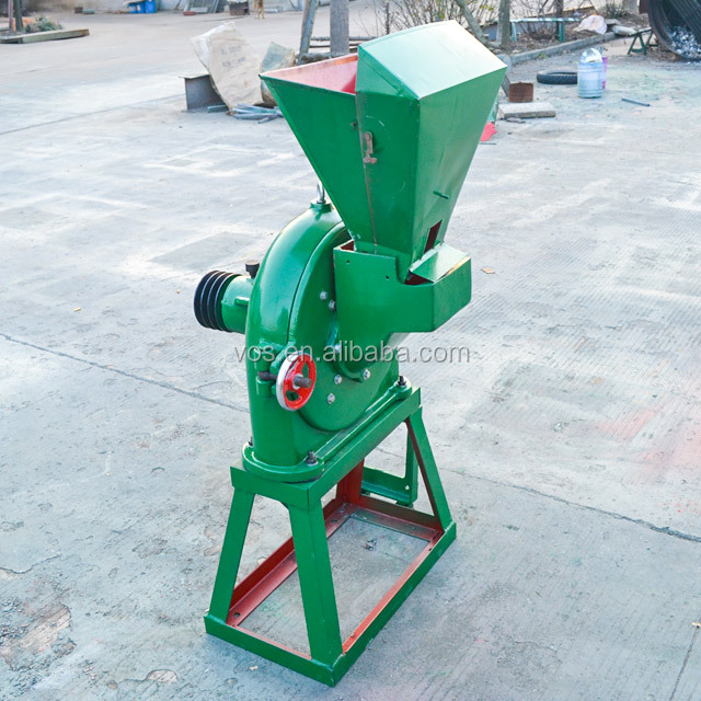 2019 hot selling disc mill pulverizer/ electric corn mill grinder/grain crusher spice crushing machine