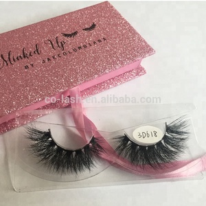Factory price private label 3D mink eyelashes