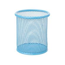 1 шт. х контейнер для ручек прямоугольная сетка стильный металлический держатель для карандашей Органайзер настольная ручка контейнеры Жел...(Китай)