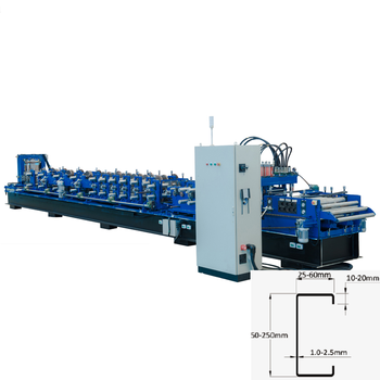 Top level steel profile c purlin roll forming machine for making c shape purlin roll former prices