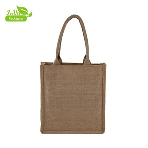 Hot sale design customized eco-friendly durable waterproof jute bag