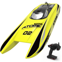 ATOMIC Brushless PNP RC Racing Boat 30mph High Speed Electronic Remote Control Boat for Adults Kids