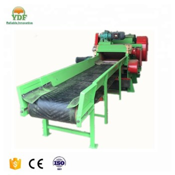 Coconut shell and oil palm EFB cutting machine