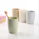 Cups with Toothbrush Holder, Cup for Water, Eco Friendly Couple Brushing Toothbrush Cups Lovers Household