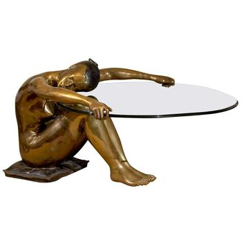 Fonte Bronze Statue Femme Bronze Sculpture Table Basse Buy Table Basse En Bronze Pour Femme Table Basse En Bronze Pieds De Table En Bronze Product