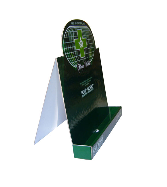 Hot Sale Pop corrugate sign corrugated plastic display stand