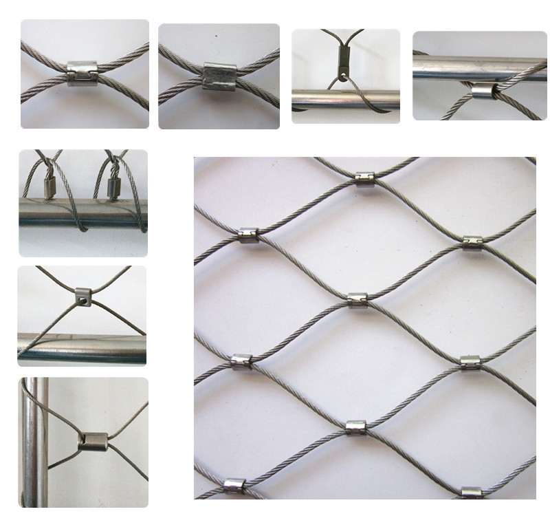 Stainless Steel Stair Railing Safety Net