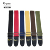 China musical instrument accessories manufacturer guitar part high quality  cheaper OEM  cotton guitar strap for sale