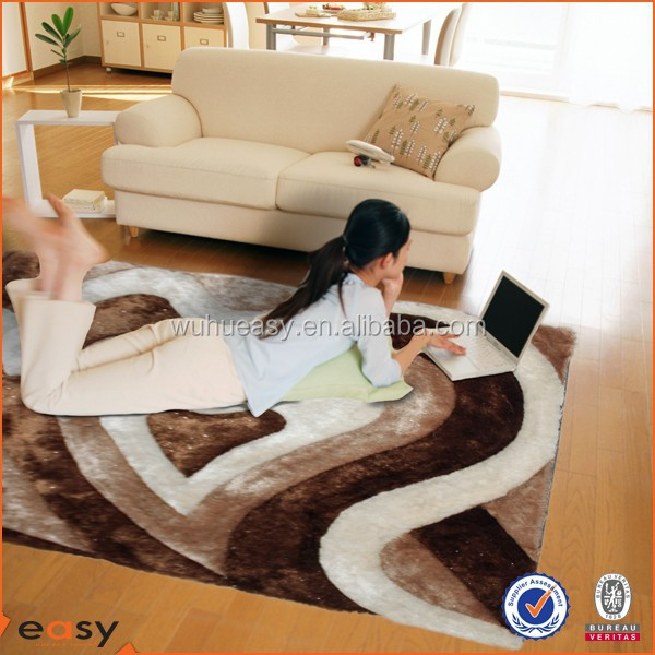 100% Handmade 3D Carpet For Bathroom And Living Room