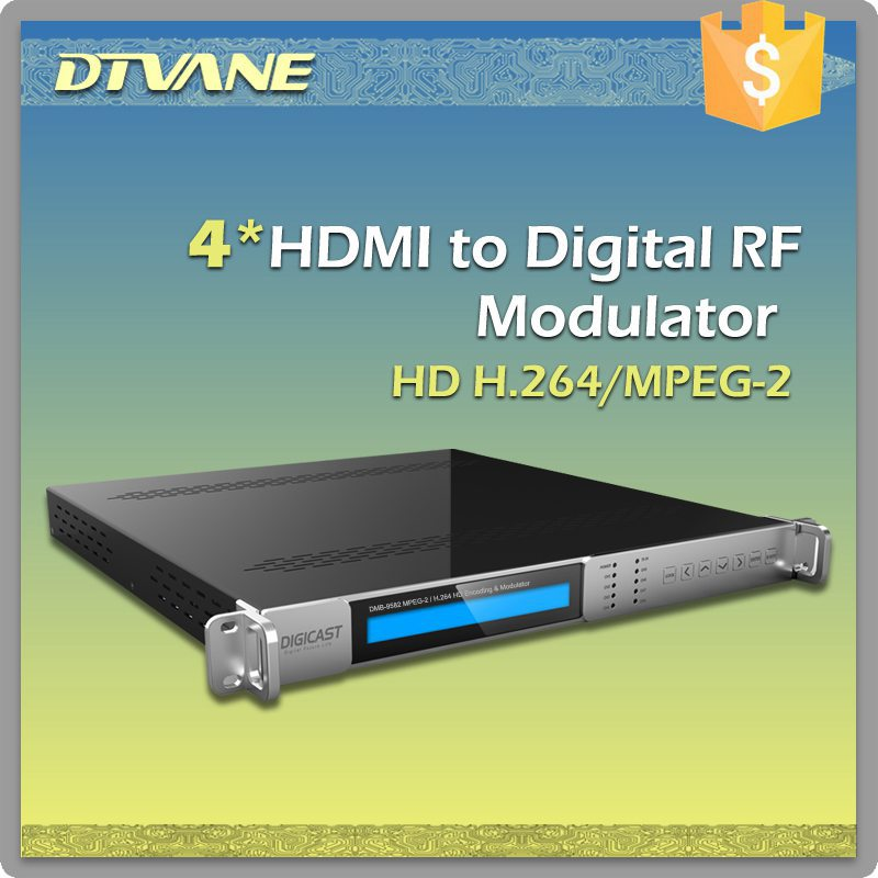 Hdmi To Digital Rf Modulator/4 Hdmi To Digital Rf Modulator For ...