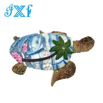 Customized Resin Souvenir Ornament Sea Turtle Figurine For Sale