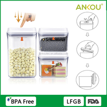 Manufacture Supply Clear Food Grade BPA Free Storage Container/ New Plastic Promotional Gifts