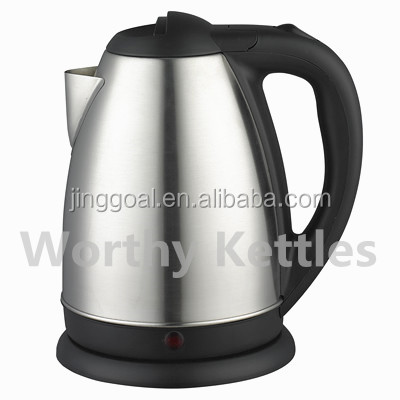 High quality 1.8L stainless steel electric kettle cordless rotatable hot water kettle