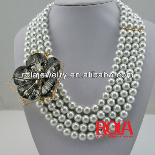 pearl necklace design ideas handmade necklace jewelry wholeale jewelry fashion ornament accessory - Handmade Jewelry Design Ideas